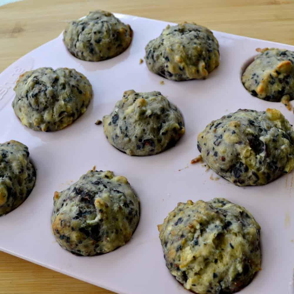blueberry & strawberry yoghurt mini muffin recipe finished