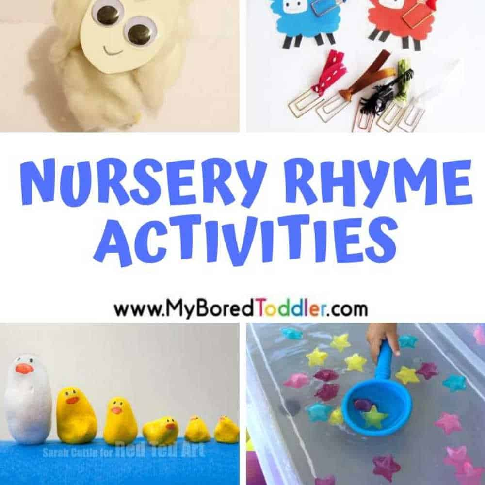 Nursery Rhyme Themed Activities for Toddlers