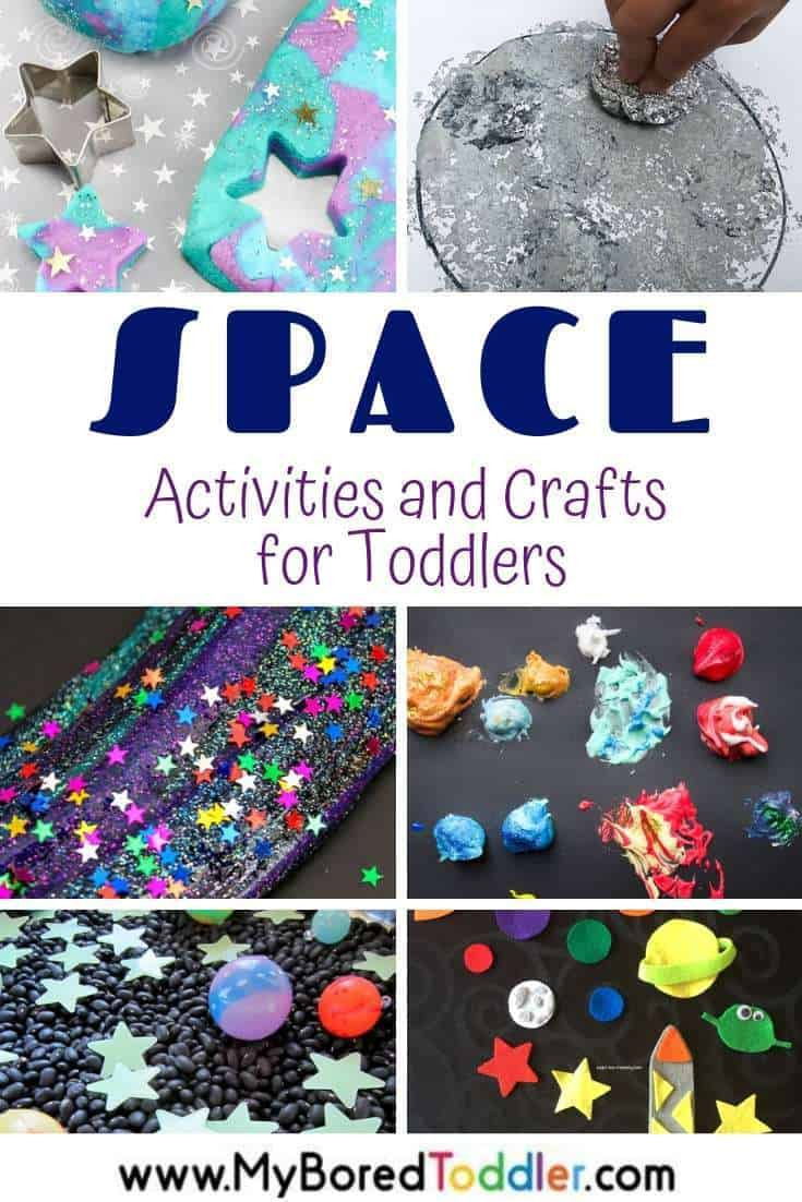 Space Activities And Crafts For Toddlers My Bored Toddler