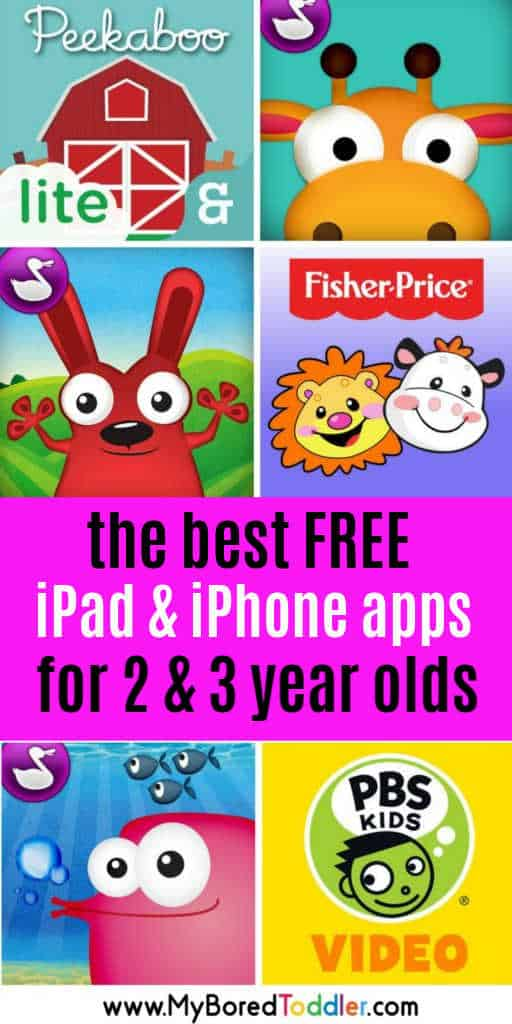 best free apps for 2 year olds ipad