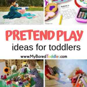 Pretend Play Ideas for Toddlers
