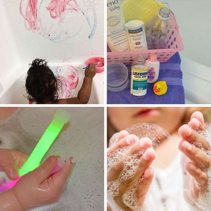 activities to do in the bathtub