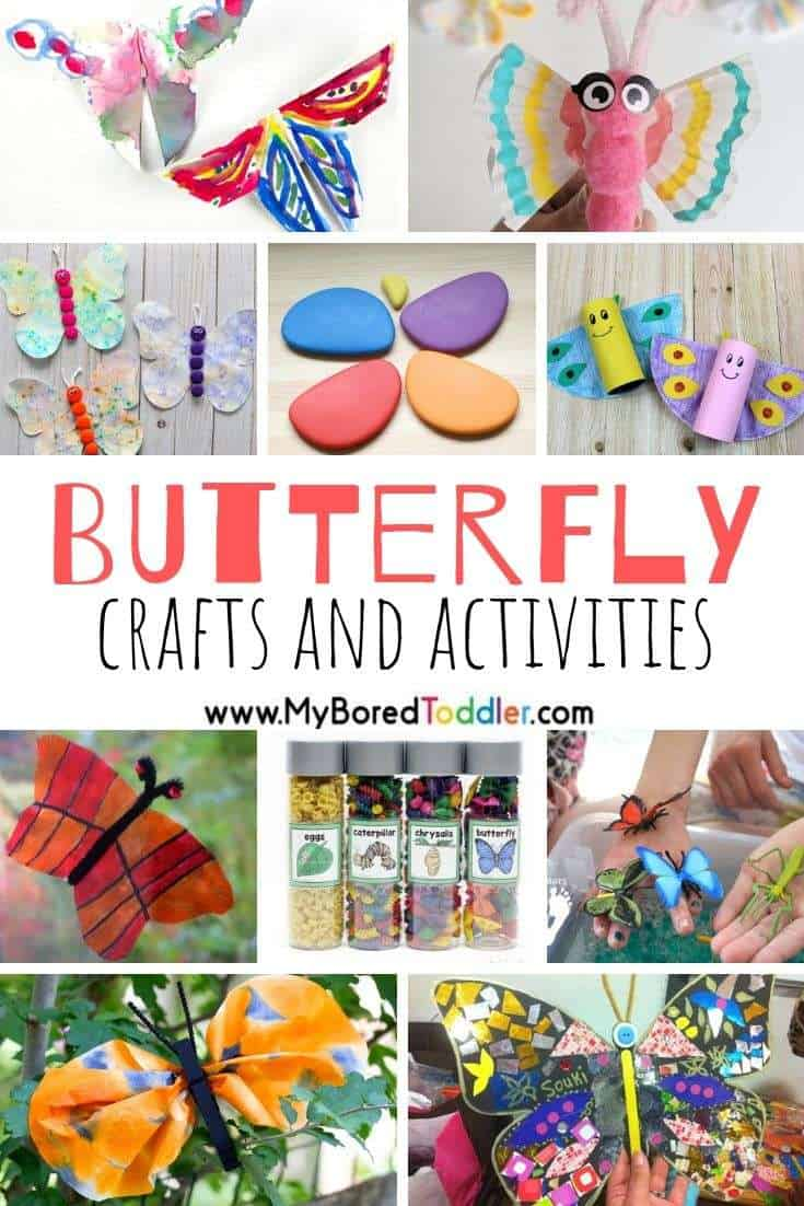 Butterly crafts and activities for kids