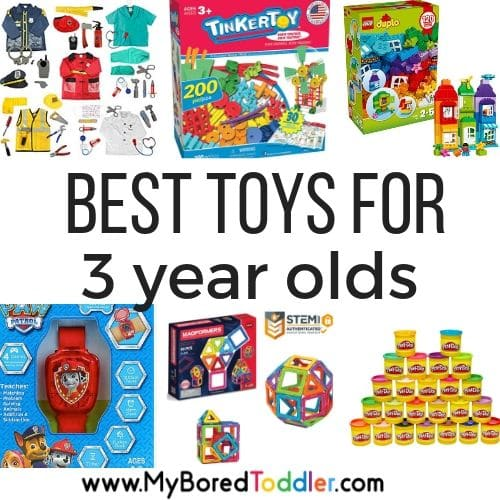 Best Toys for 3 Year Olds – Gift ideas for 3 year olds