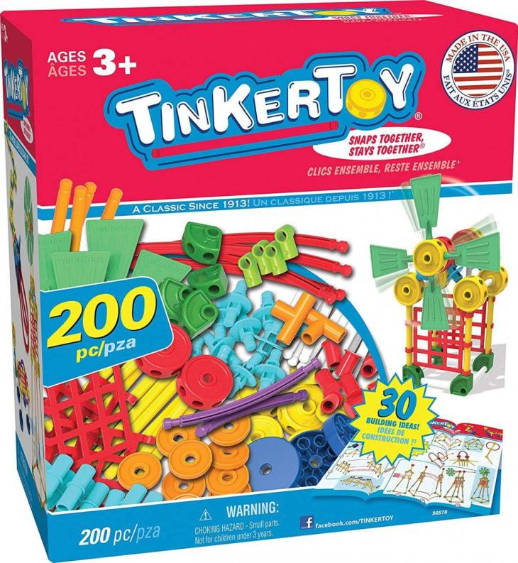 Tinker Toy - best toys for 3 year olds