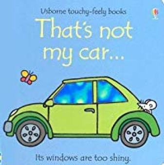 that's not my car - book for toddlers