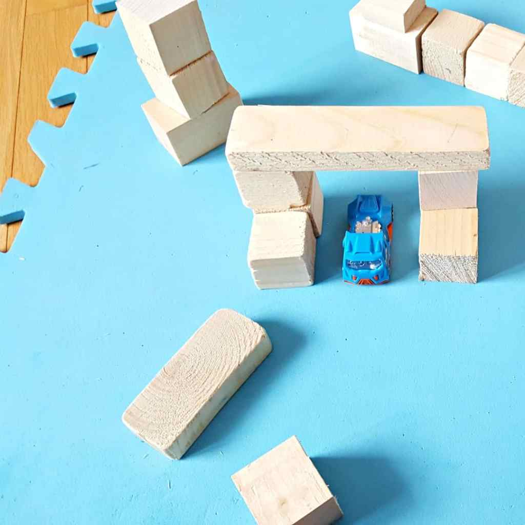 Easy Block Play Activity for Toddlers