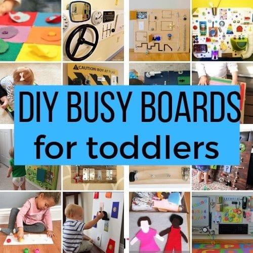 DIY Toddler Busy Board Ideas