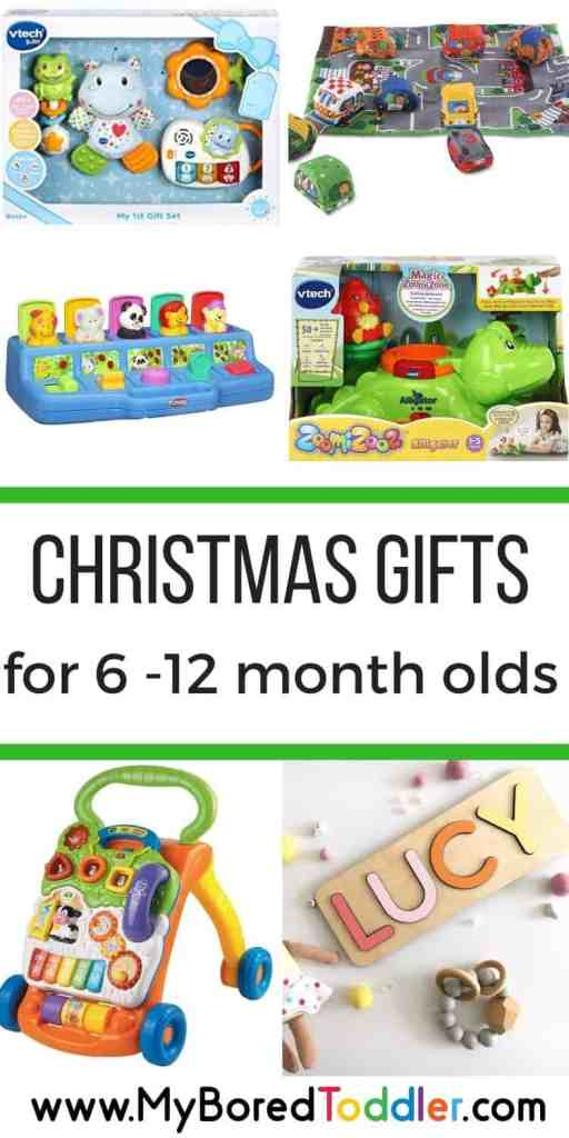 christmas gift ideas for 6 -12 month olds