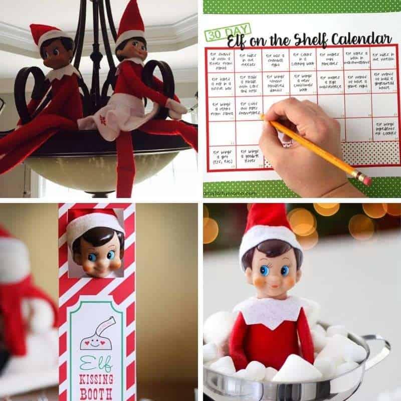 elf on the shelf Christmas ideas