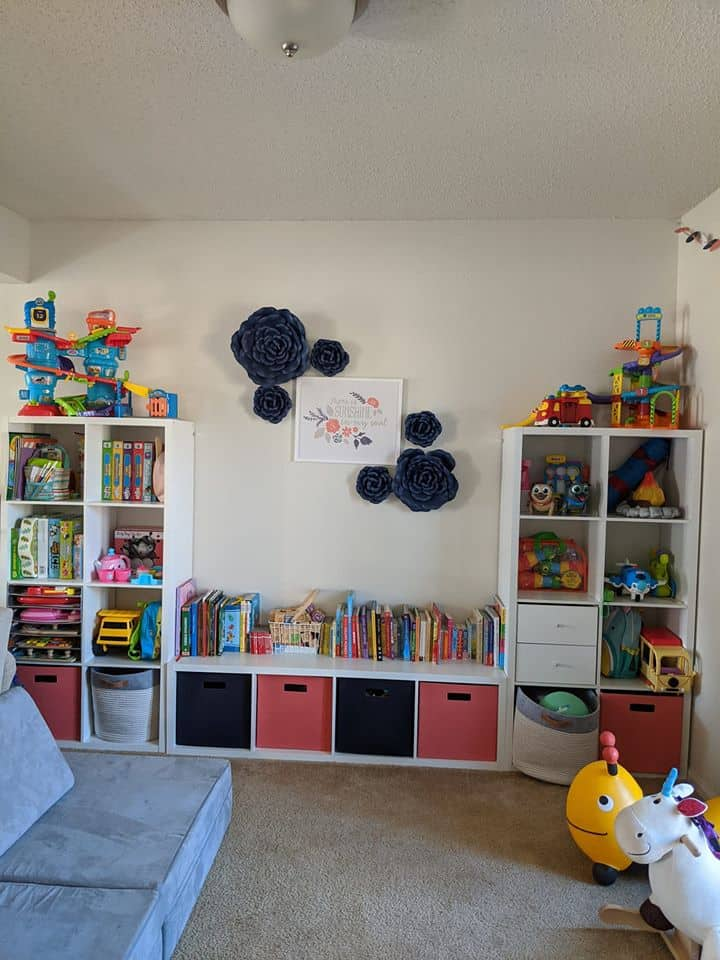 Cube storage ideas for toys from Target