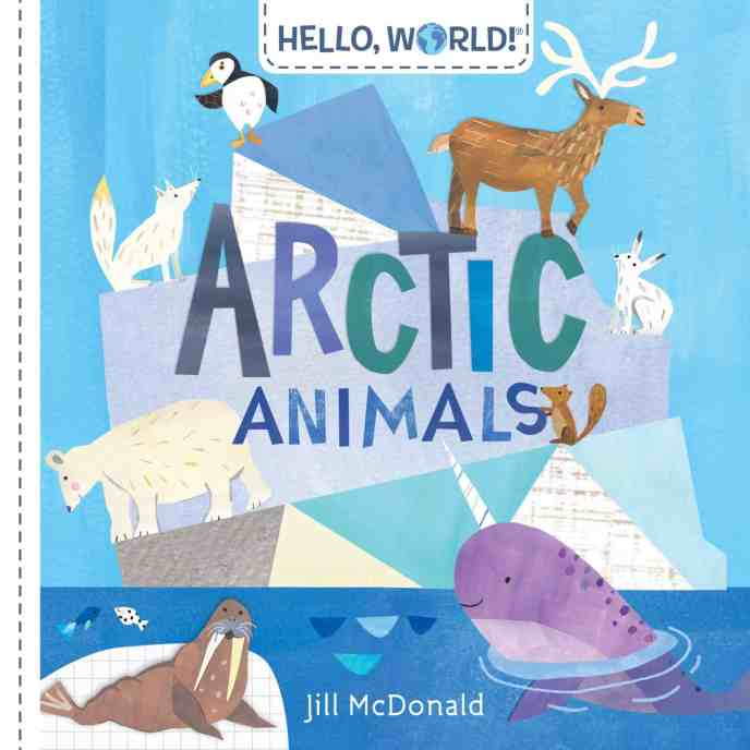 arctic animals book for toddlers