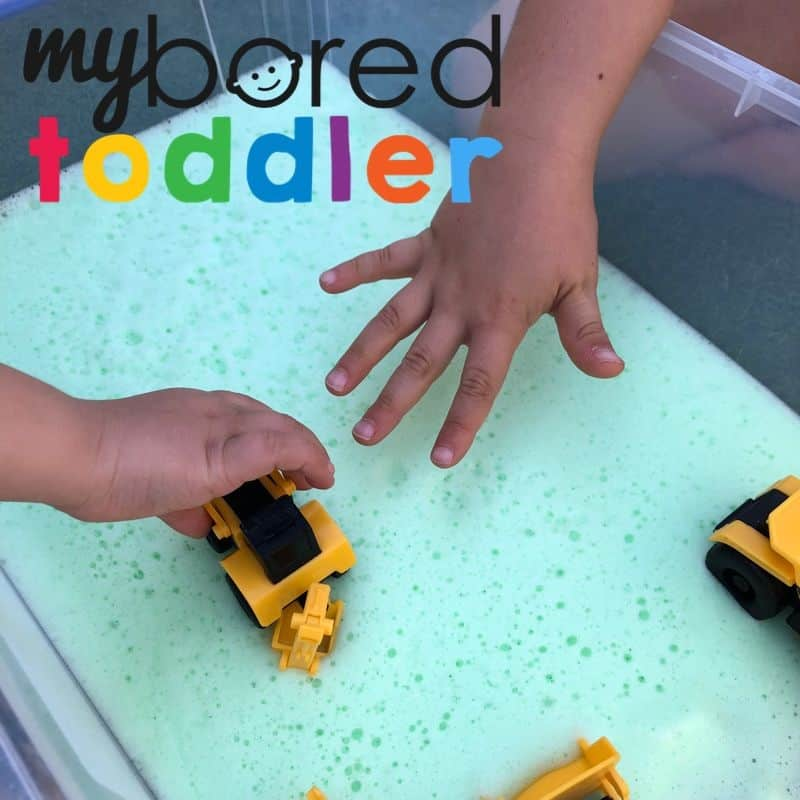 Soap Foam Construction Play