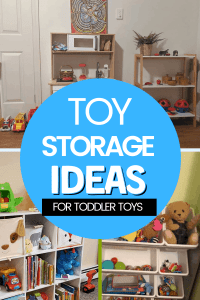 Toy Storage Ideas For Toddler Toys Real Life Example