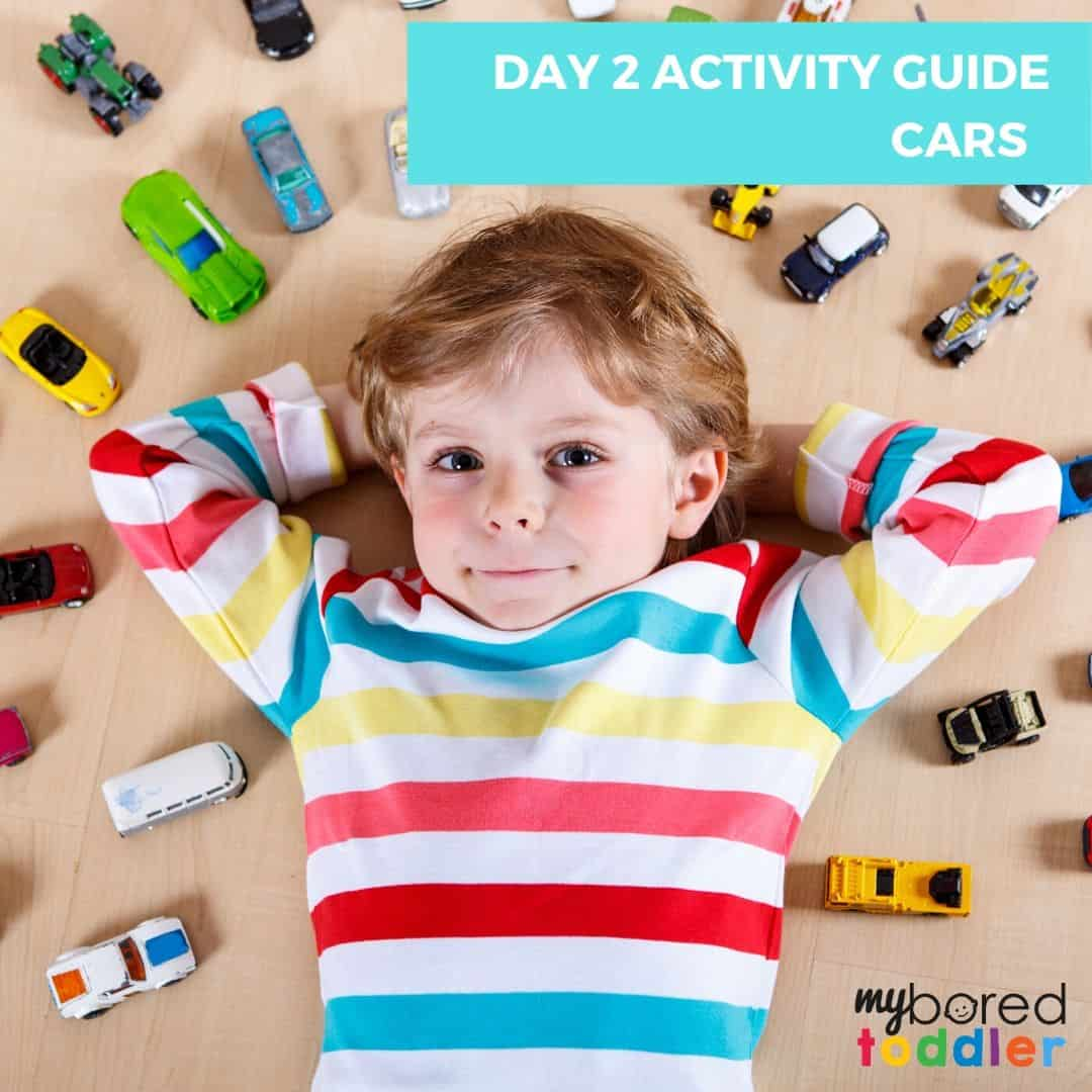 indoor toddler activities cars