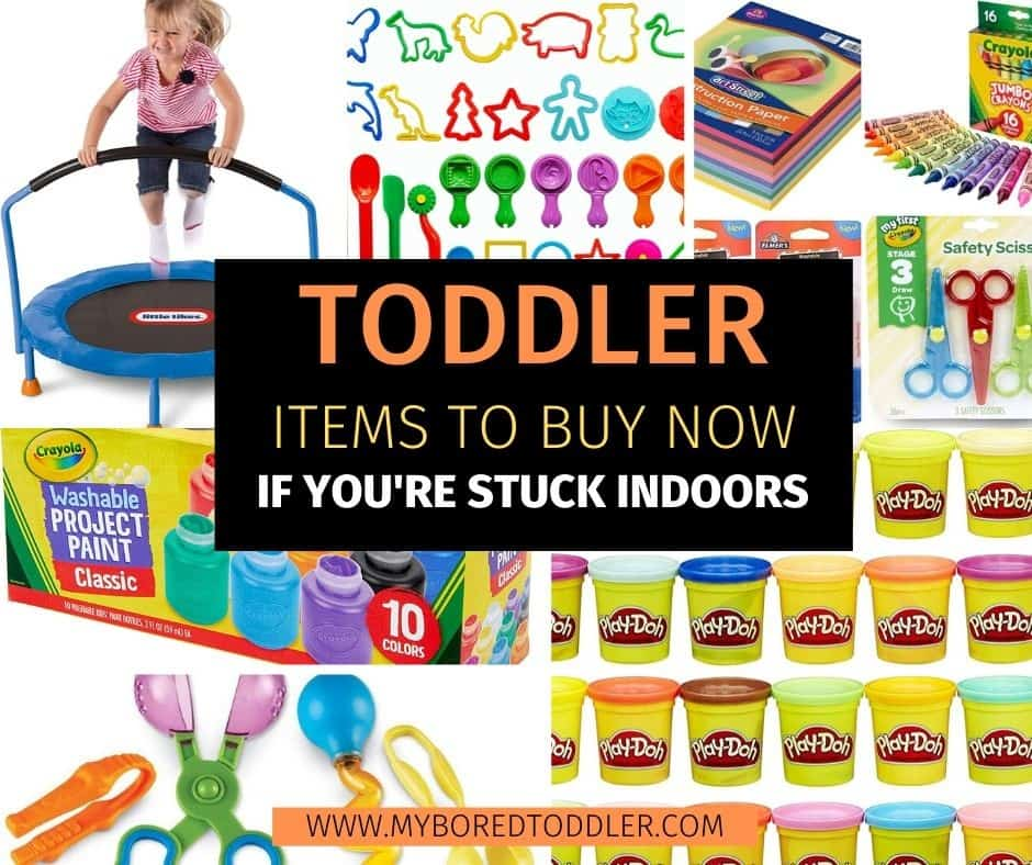toddler items to buy now if you're stuck indoors facbook