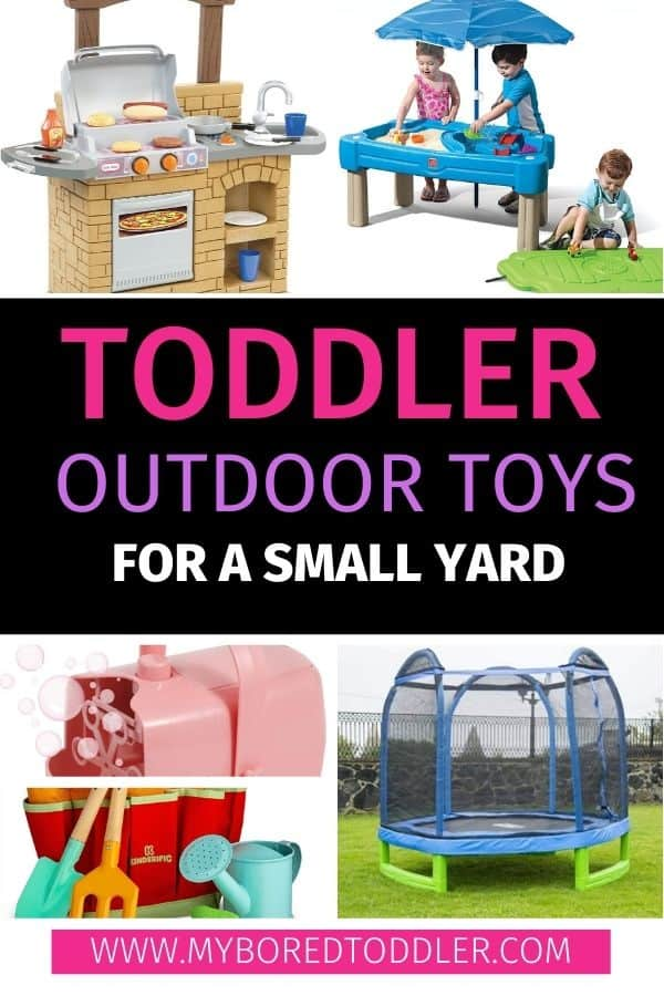 toddler outdoor toys for a small yard