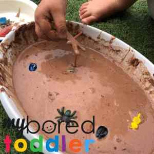 Bugs in Mud – Taste Safe Messy Play
