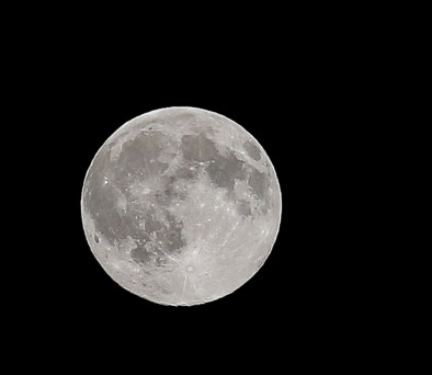 moon zoomed in