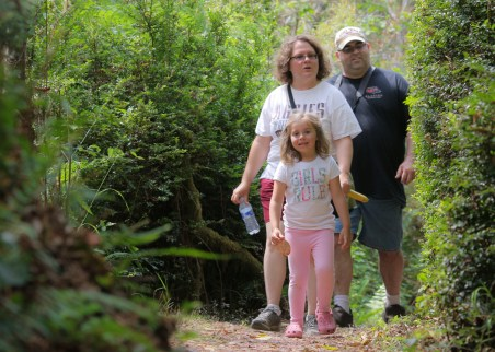 mike maddy melissa in the woods