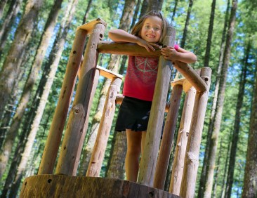 maddy on play structure