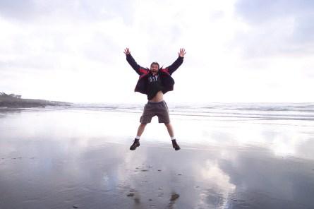 man flying