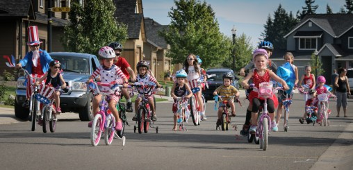 kids bike race