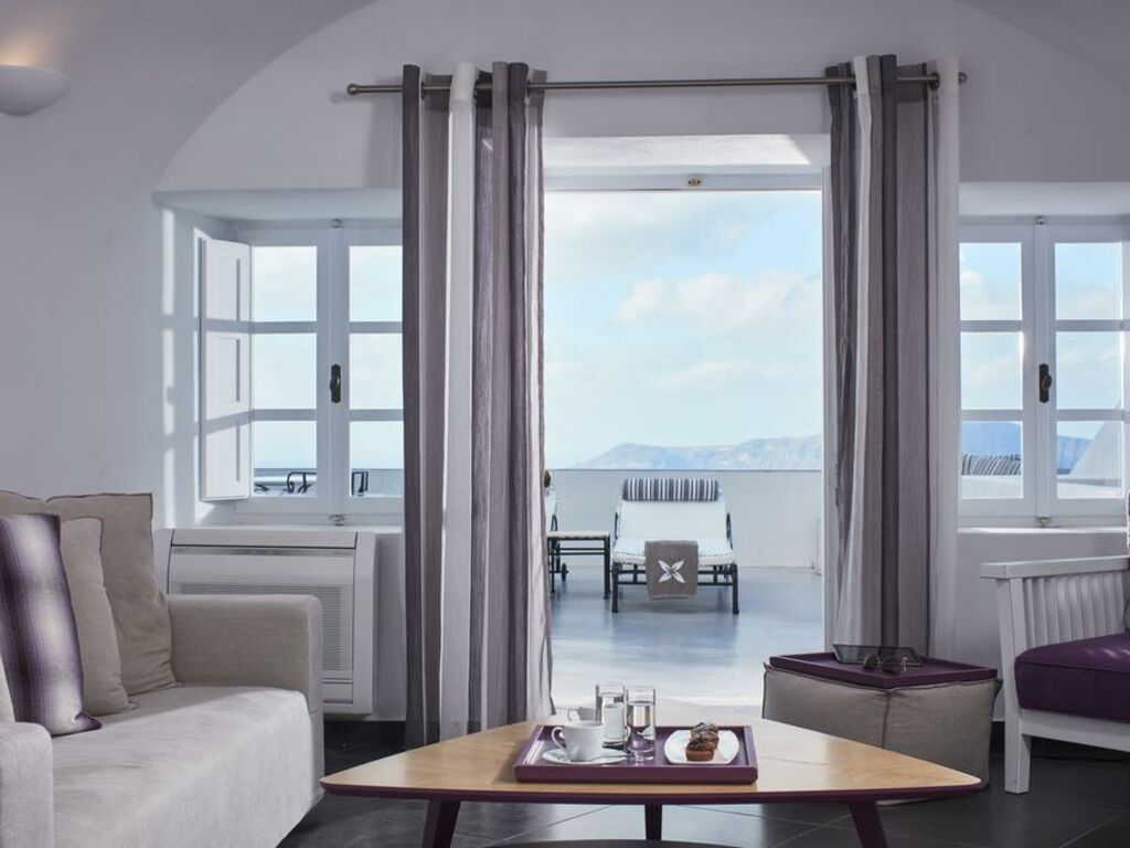 Couchtisch Antonio San Antonio - Small Luxury Hotels Of The World, Imerovigli, Santorin, Griechenland