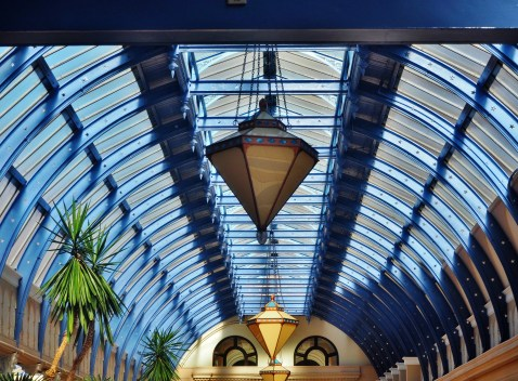 Winter Gardens roof