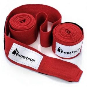 Boxing bandage Meteor 2.8 m 2 pcs. Red 24296