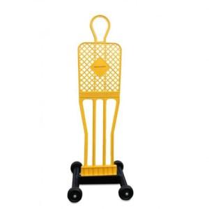 Trolley for 1 form of the ELITE Yakimasport 100223 football wall