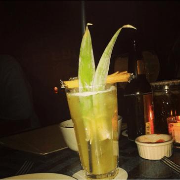 Mezcal Cocktail at Pueblo109