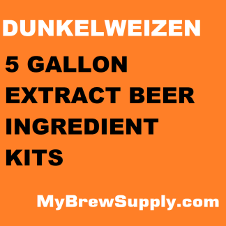 MBS DunkelWeizen 5 Gallon Beer Extract Kit