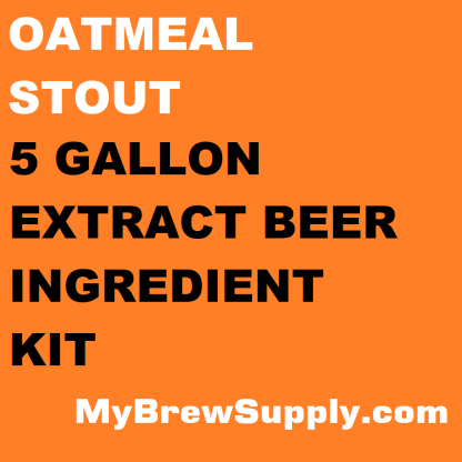 MBS Oatmeal Stout 5 Gallon Beer Extract Ingredient Kit