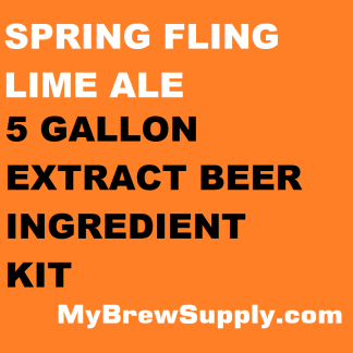 MBS Spring Fling Lime Ale Homebrew 5 Gallon Beer Extract Ingredient Kit