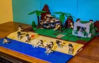 Lego WWII Iwo Jima Landing MOC | My Bricks In War