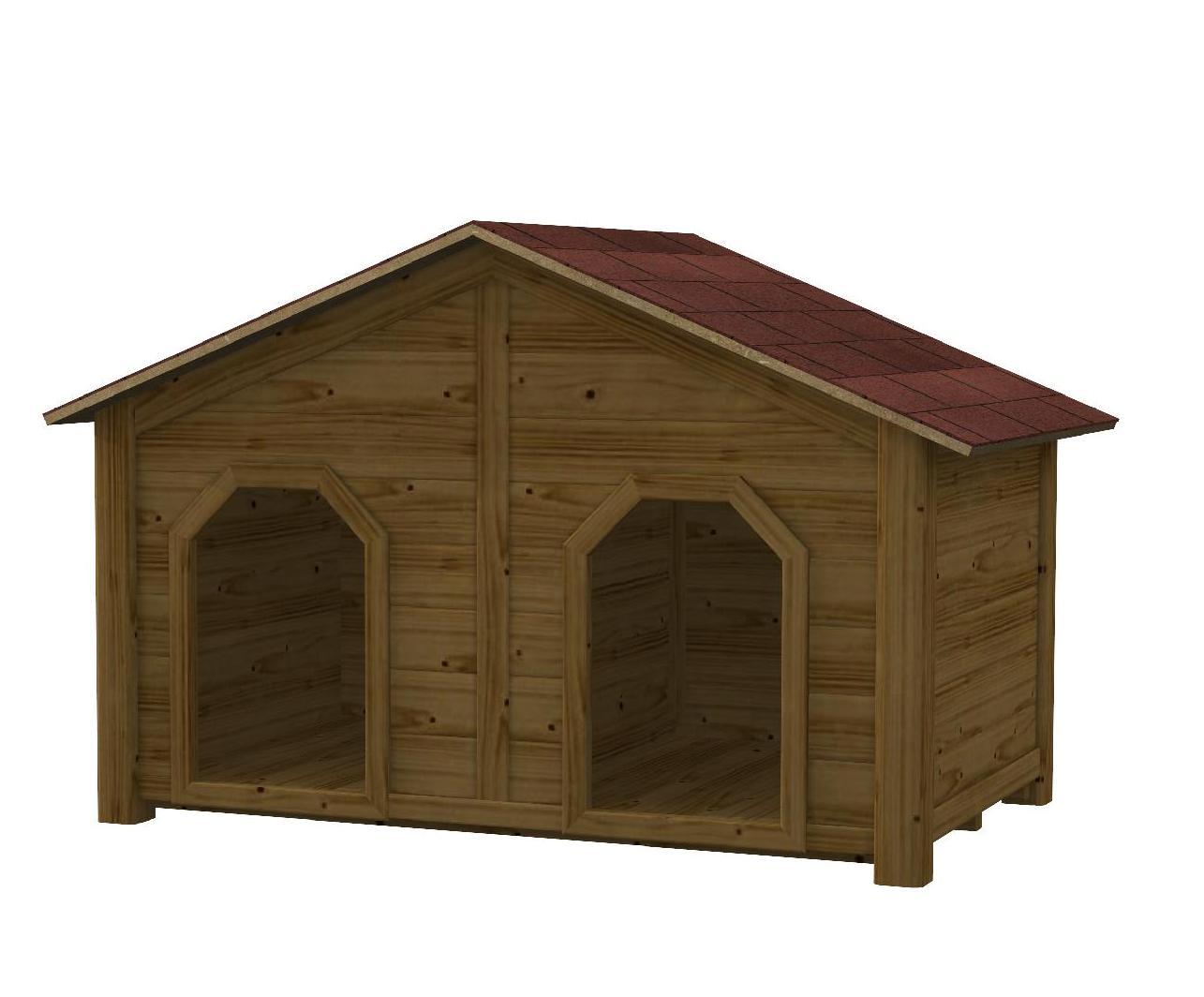 Cucce in legno per cani  Mybricoshop