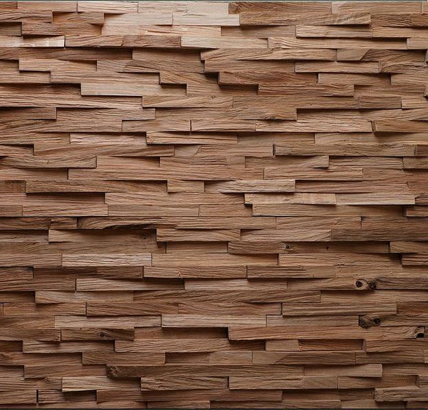 Pannelli 3D in legno per rivestimento pareti  Mybricoshop