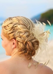 beach wedding bridal hairstyles