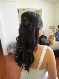 Wedding Hairstyles For Long Hair Half Up Half Down ...