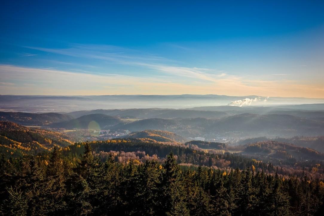 krajobrazy Czechy