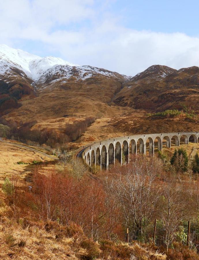 Pocztówka ze szkockiego dzikiego zachodu