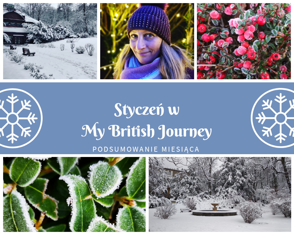 Styczeń na blogu My British Journey