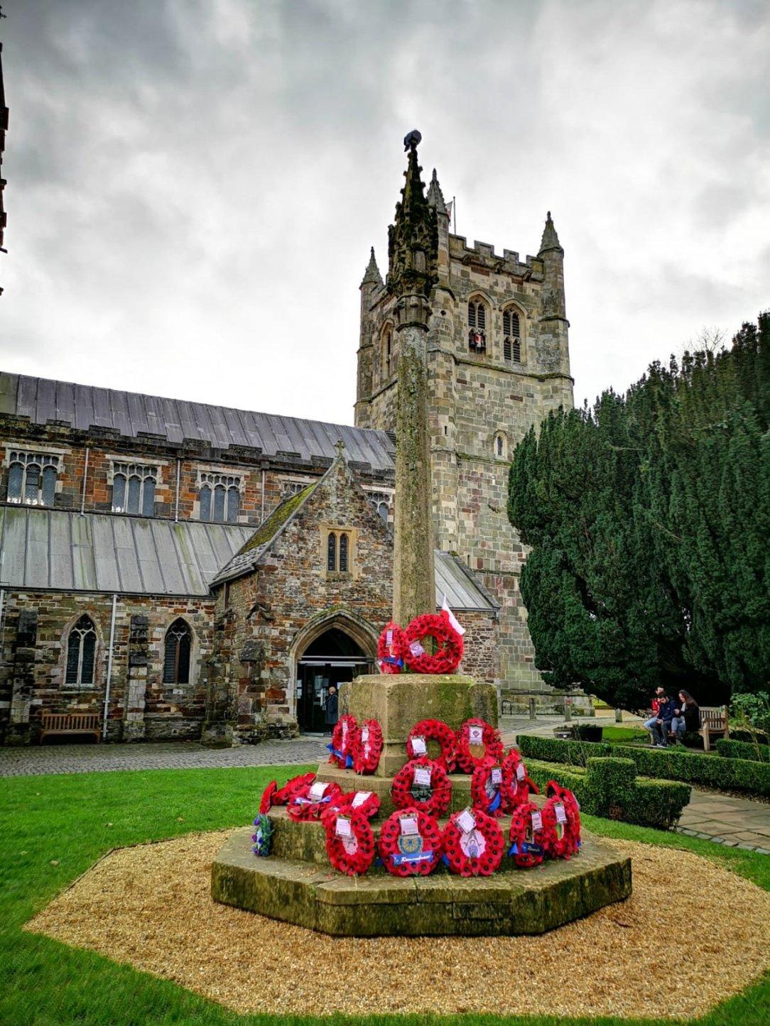 Wimborne Minster I jego piękny kościół