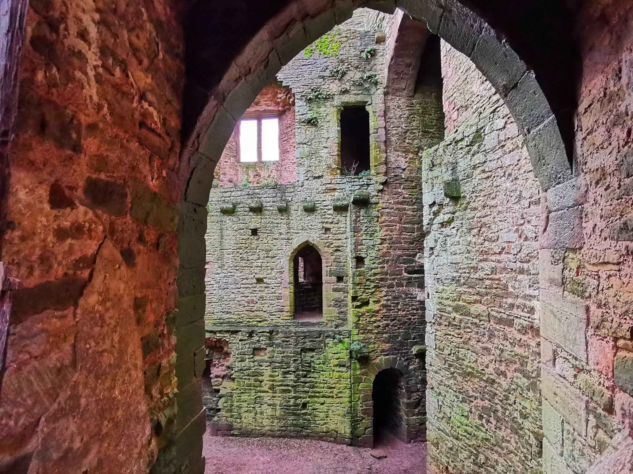 fascynujące barwy znalezione w zamku