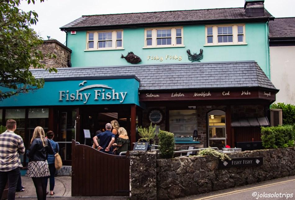 """""""Fisy Fishy"""" – Kinsale przystań"""