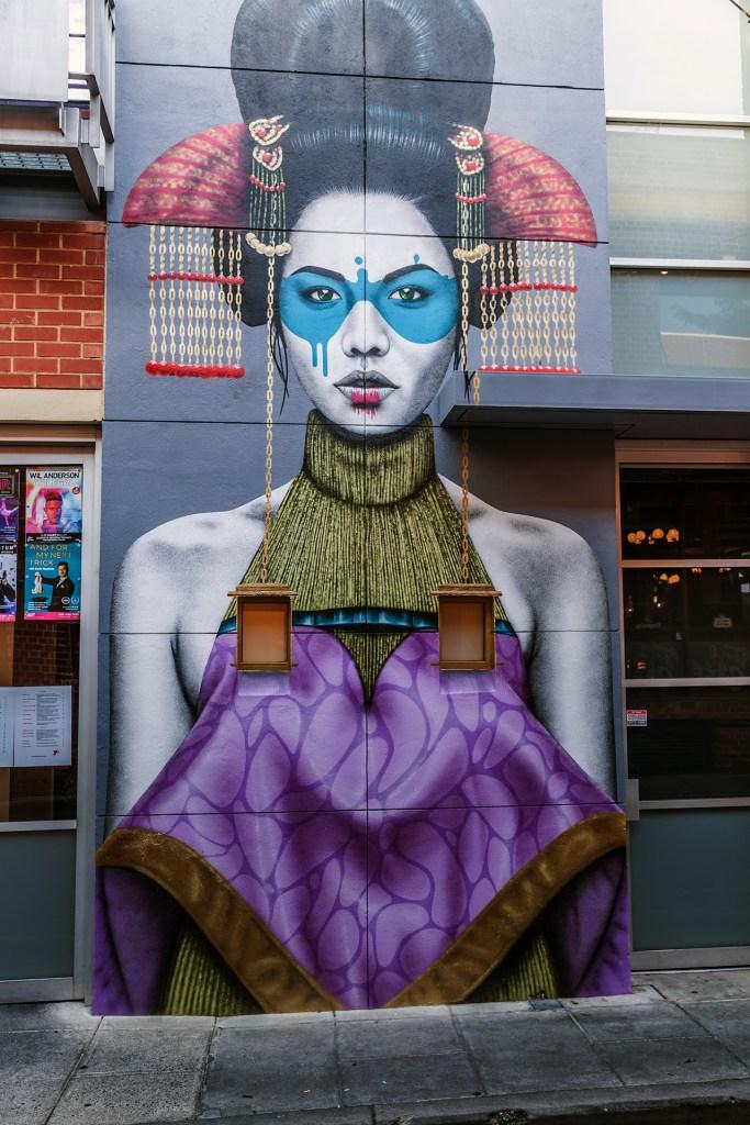 Mural z Adelaide