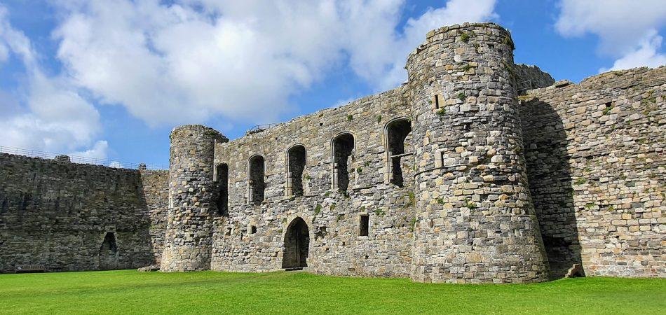 Czy Beaumaris jest zamkiem doskonałym? Brama wewnętrzna