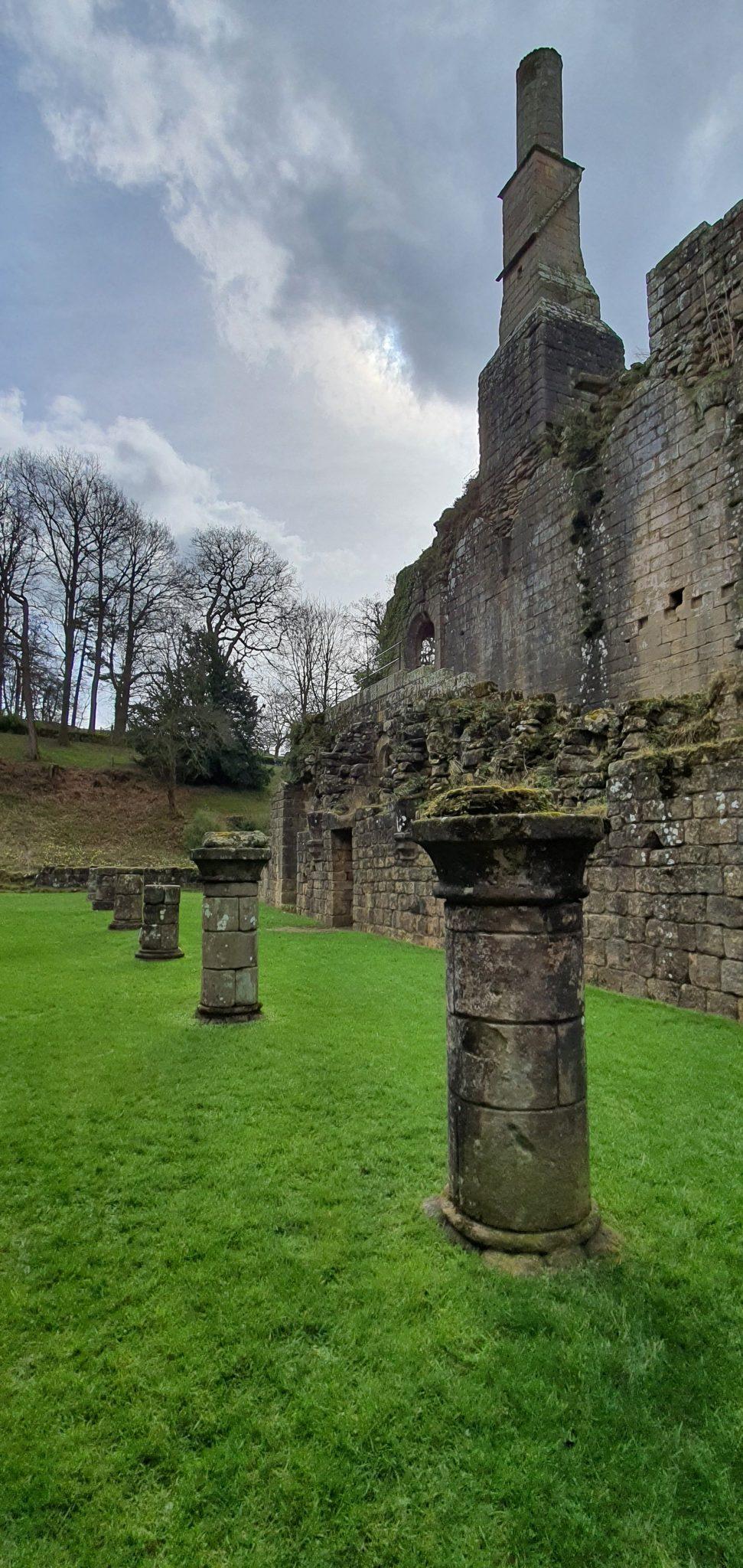 Ruiny Fountains Abbey