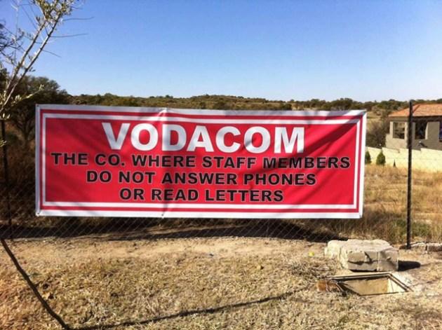 Vodacom banner